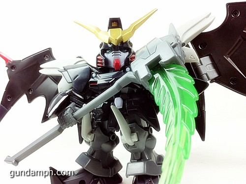SD Gundam Online Deathscythe Hell Custom Toy Figure Unboxing Review (24)