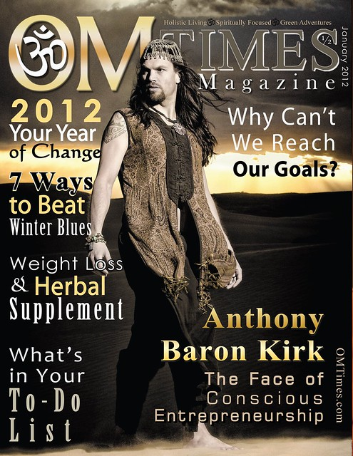 OM Times Magazine : January 1/2 2012 : Anthony Baron Kirk