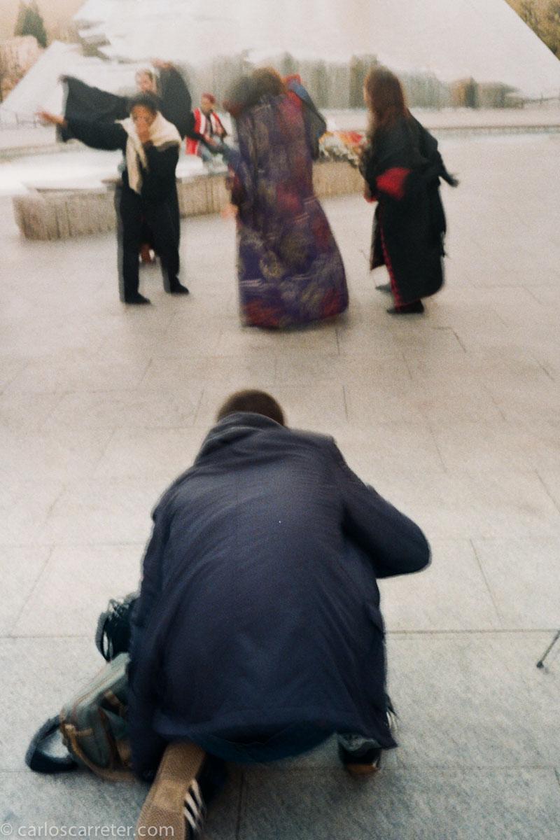 Danza en la plaza del Pilar