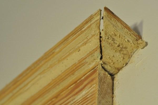Closet trim detail