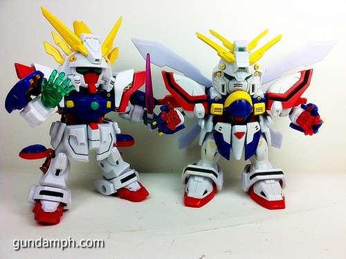 SD Archive Shining Gundam Unboxing Review (44)