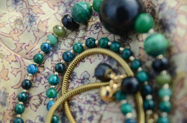 DIY Malachite Necklace