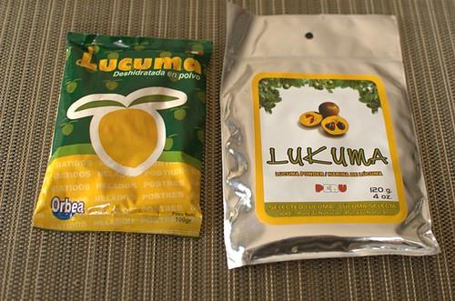 Dehydrated lucuma
