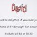 David's Barmitzvah