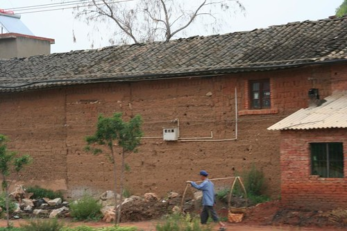 real village house