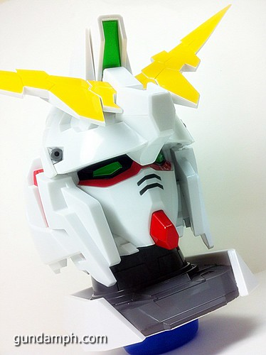 Banpresto Gundam Unicorn Head Display  Unboxing  Review (26)