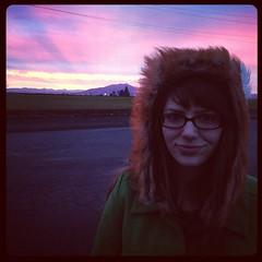 Christmas Morning Sunrise - Off I-5