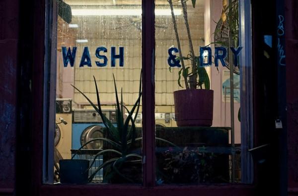 Wash & Dry, Greenpoint, 26 Jan 2012.