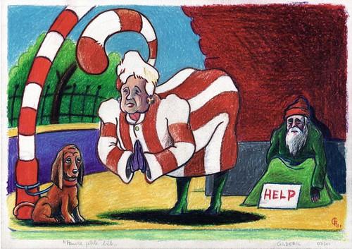 Pauvre petite bête... (Poor little pet) - Illustration : Gilderic