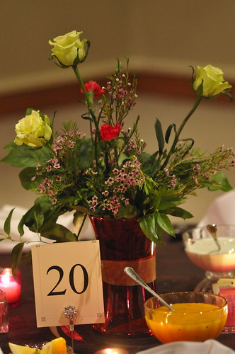 Table numbers, Place card holders, Vases