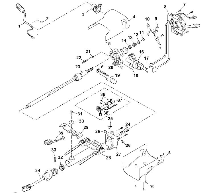 2005 Chevy Colorado Dash Parts Diagram • Wiring Diagram