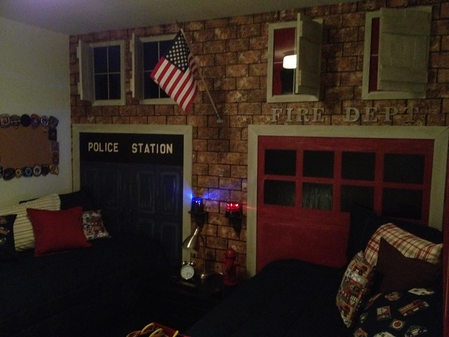 Fire Department and Police Station theme are Nicklass