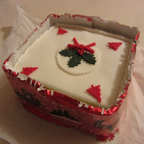 vegan chrimbo cake 2011