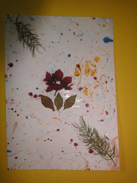 Dried Flower New year Card 2