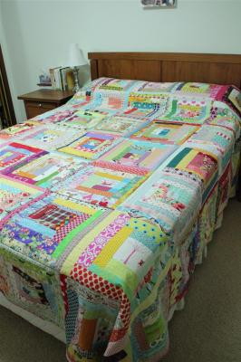 The cheeky quilt is finished!!
