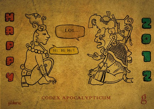 CODEX APOCALYPTICUM (Illustration : Gilderic)