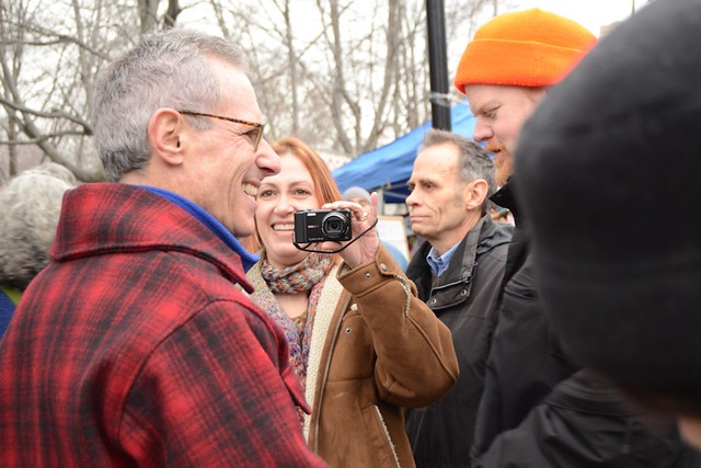 Fred Karger - Occupy/Pride March - New Hampshire Primary