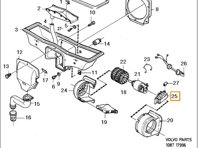 Heater Resistor pack