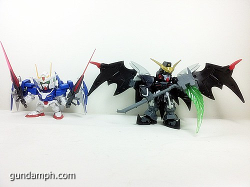 SD Gundam Online Deathscythe Hell Custom Toy Figure Unboxing Review (26)