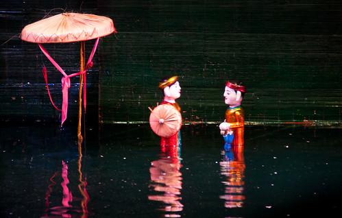 Hanoi's Water puppets II