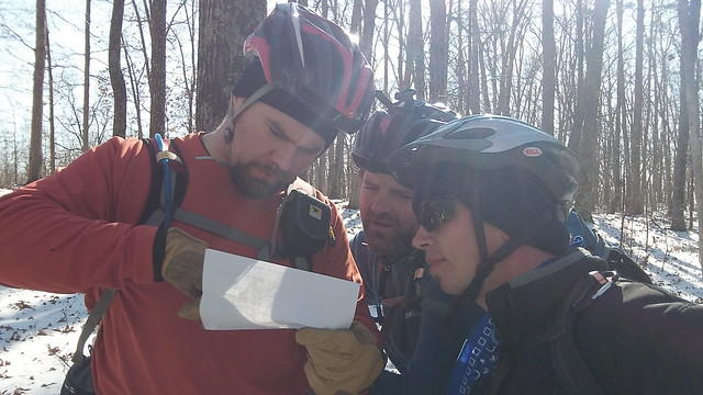 Map Check on the Berryman Trail