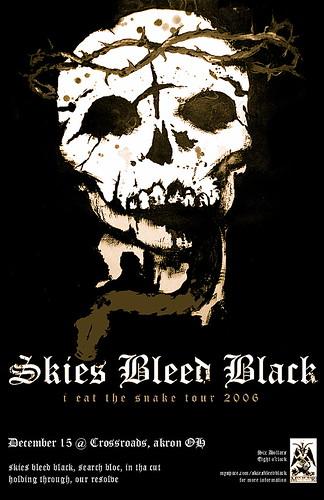 Skies Bleed Black Flyer