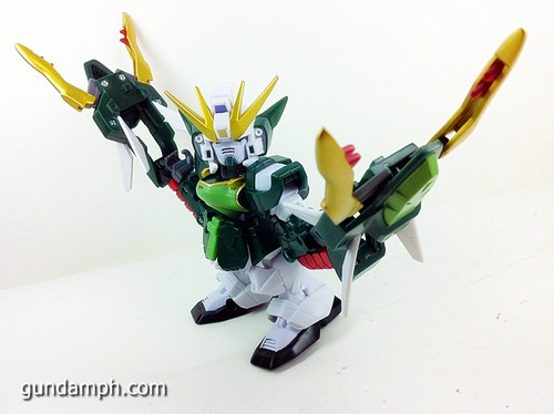 SD Gundam Online Capsule Fighter ALTRON Toy Figure Unboxing Review (27)