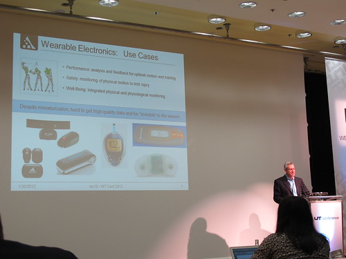 David Icke on electronics anywhere at Wearable Technologies Conference 2012