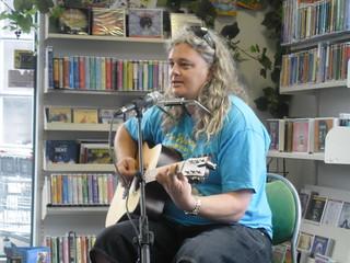 Craig performing