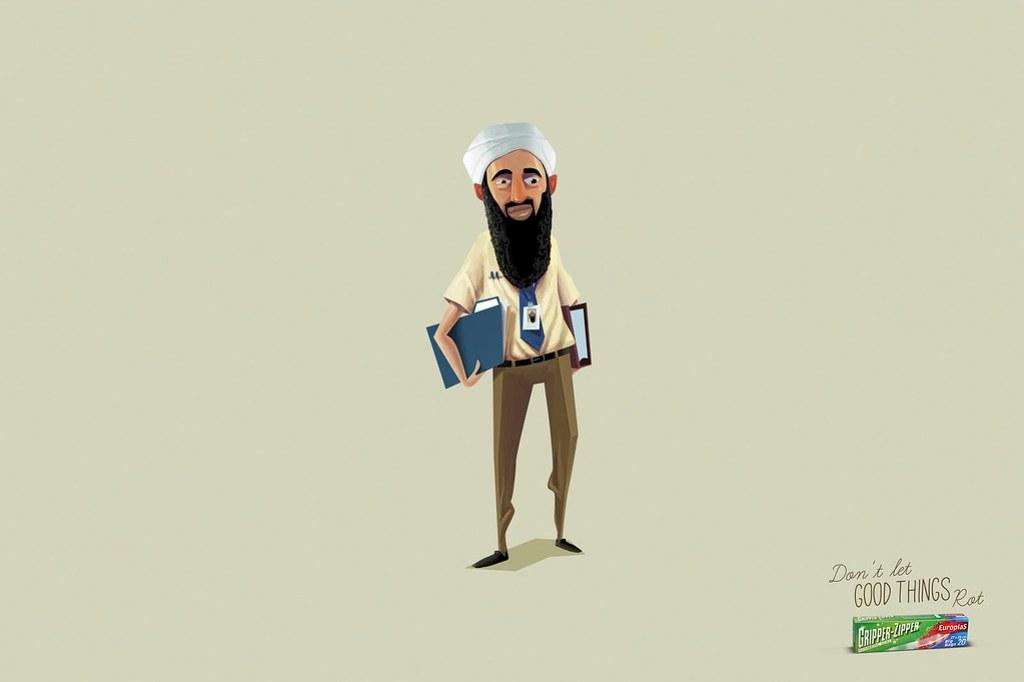 Europlas Gripper Zipper - Ben Laden