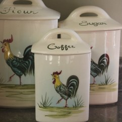 Kitchen To Go Lowes Kitchens Vintage Rooster Canister Set | Flickr - Photo Sharing!