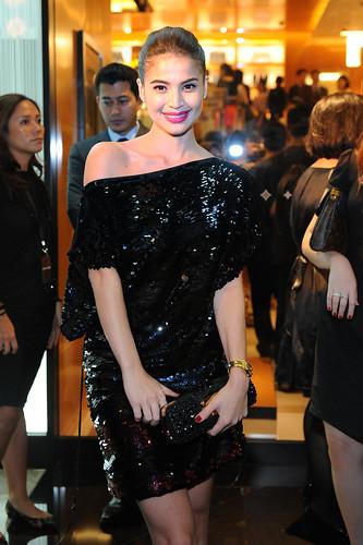 Anne Curtis dressed in Louis Vuitton