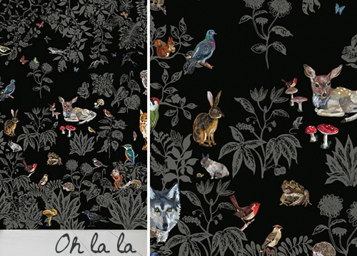Foret Noire Wallpaper By Nathalie Lete