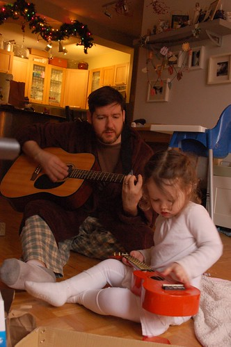 first jam with Daddy