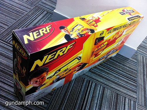 NERF Sale 50% Off Stampede Raider Recon Unboxing Review (3)