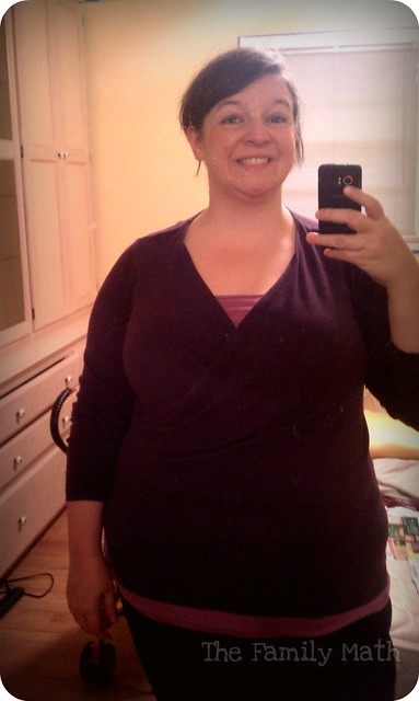WWS outfit - Purple sweater