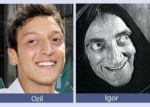 Ozil y Igor
