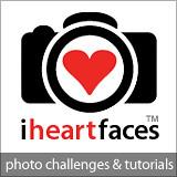 I Heart Faces Button