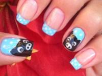 Nail Art Pig