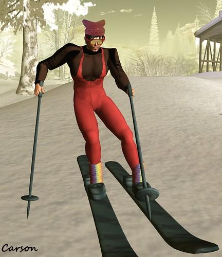Evaki  - Snow Ski Outfit