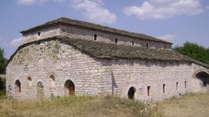 An old church in Voskopoja, Korce, Albania