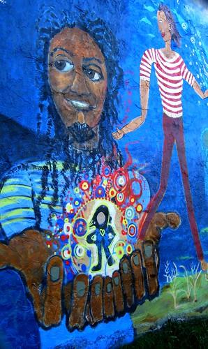 Mural Detail by dyannaanfang