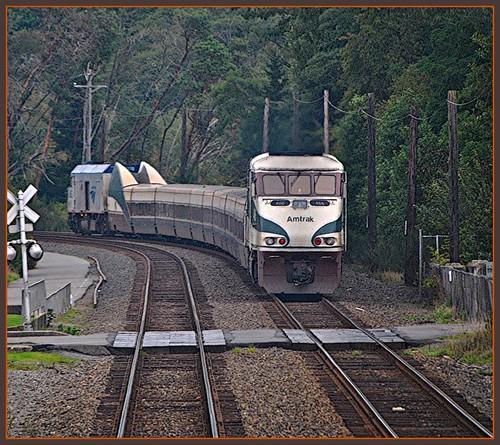Amtrak Cascades @ Pioneer Wa by Loco Steve