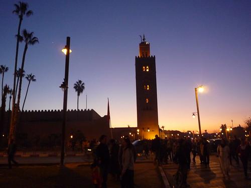 Alminar de la mezquita Koutoubia