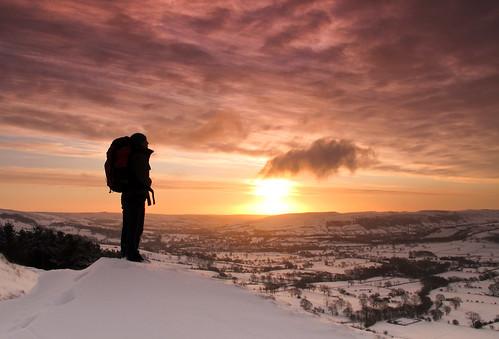 Peakland sunrise