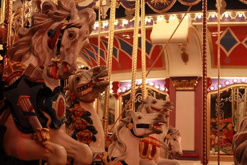 Carousel at Walt Disney World.