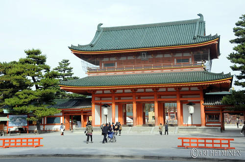 平安神宮 Heianjingu shrine