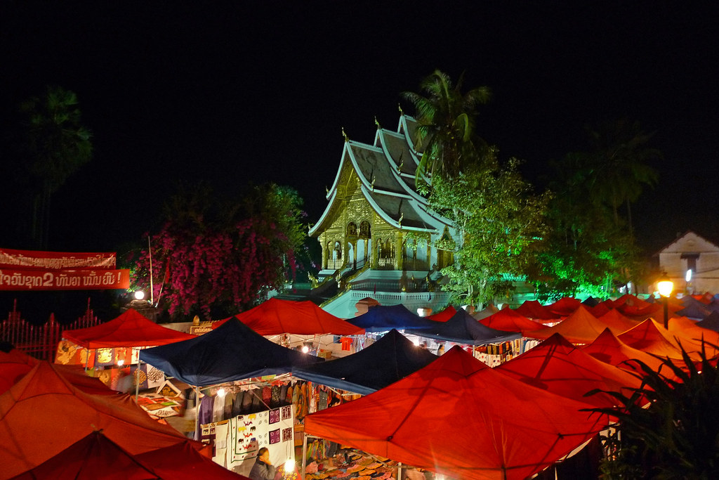 night market luangprabang