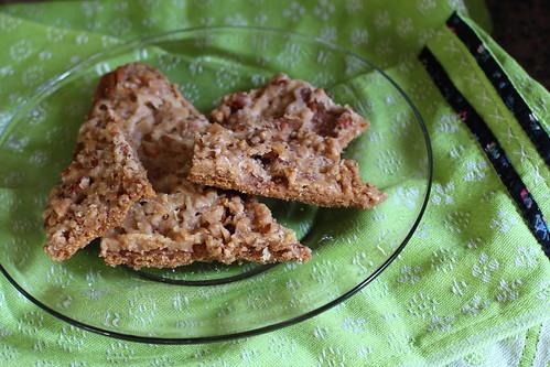 graham cracker pecan toffee crunch