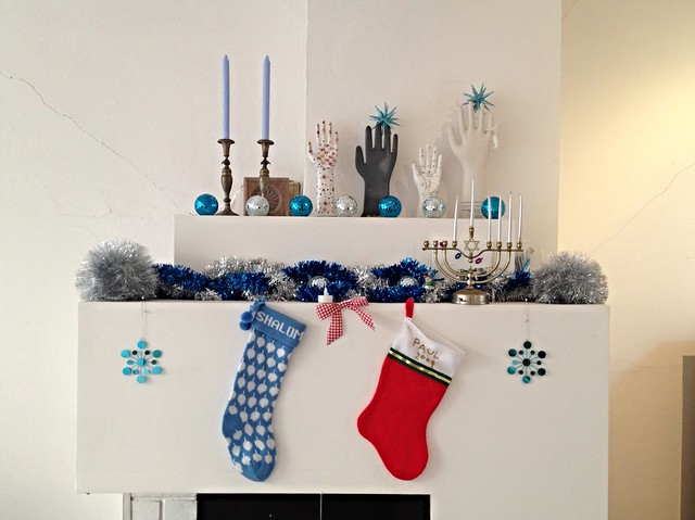 Jewish & Christian Mixed Marriage Holiday Decorations